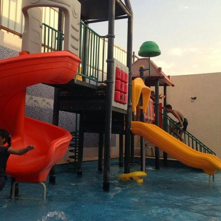 تطبيق ريح شاليه القلعة المائية المتوسط في الرياض ظهرة نمار